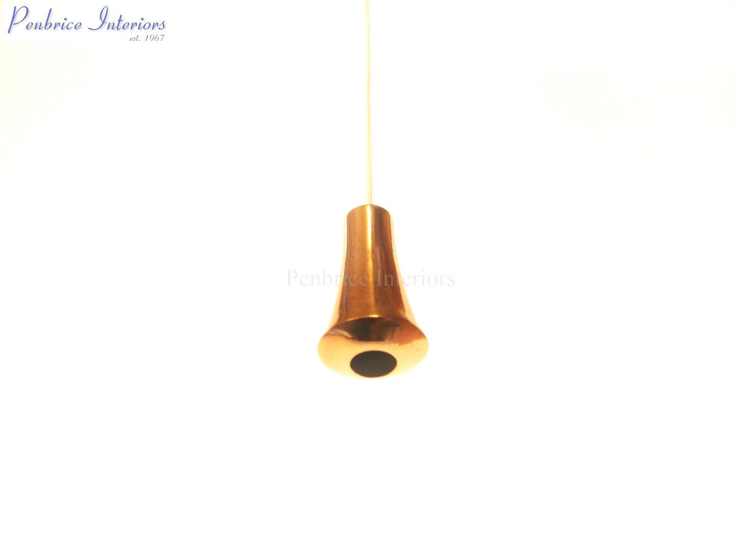 Copper Cord Pull Heavy 43g Bathroom Light Blind String